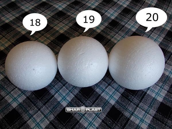 Изготовление шариков из пенопласта своими руками